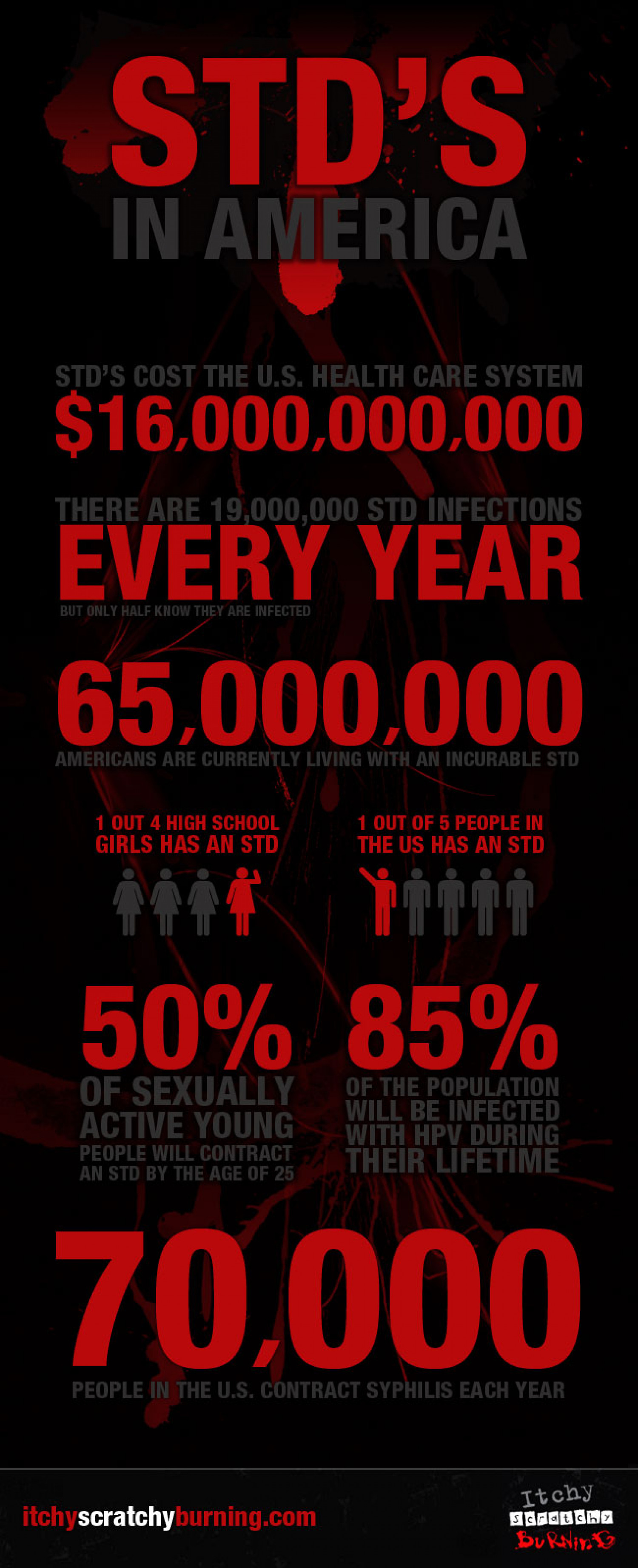 STDs in America Infographic