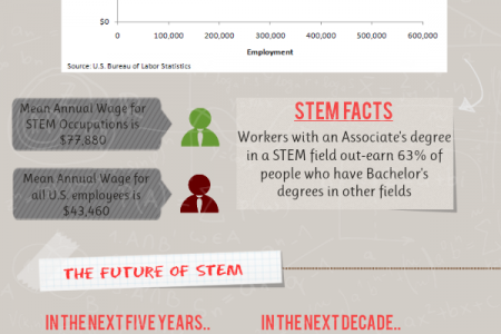STEM Investment: An Effort to Keep the U.S. Competitive in a Global Marketplace? Infographic