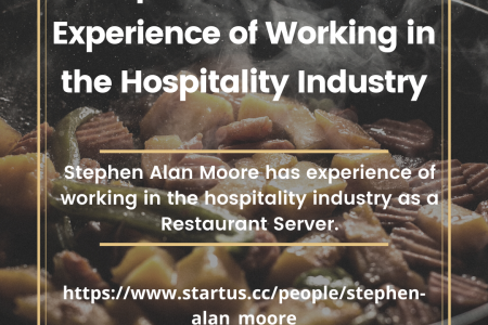 Stephen Alan Moore Experience of Working in the Hospitality Industry Infographic