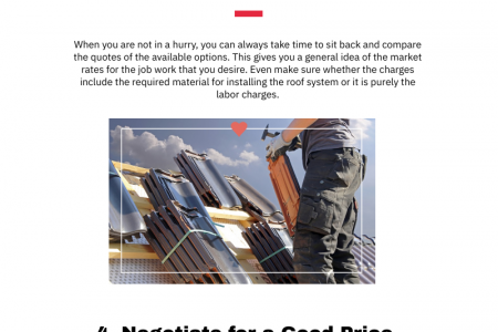 Steps to Choosing a Roof Installation Specialist Infographic