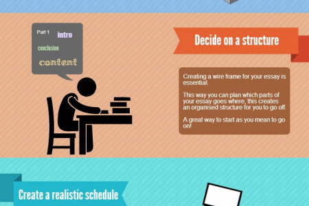 Steps to Follow for Essay Infographic