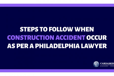 Steps to Follow When Construction Accident Occur as per a Philadelphia lawyer Infographic