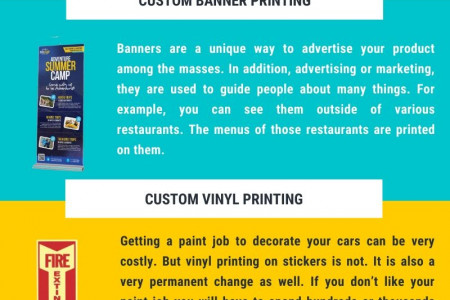Stickers and Labels Infographic