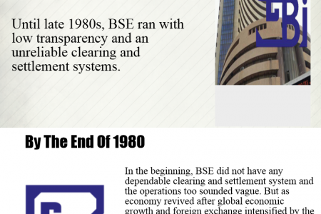 Stock Market History Infographic