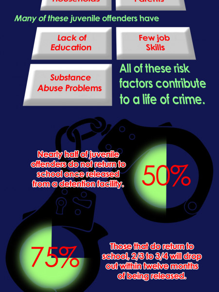 Stopping the Cycle of Crime Infographic