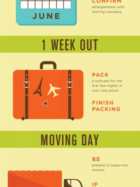 Strategies to Simplify Your Move Infographic