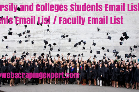 Students Email List / Faculty Email List  Infographic