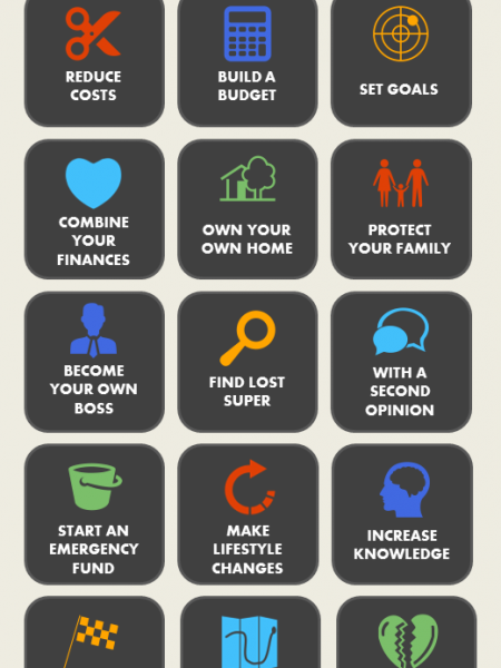 Stuff a Financial Planner Can Help With Infographic