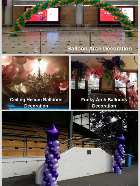 Stunning Balloons Decoration for Corporate Events Infographic