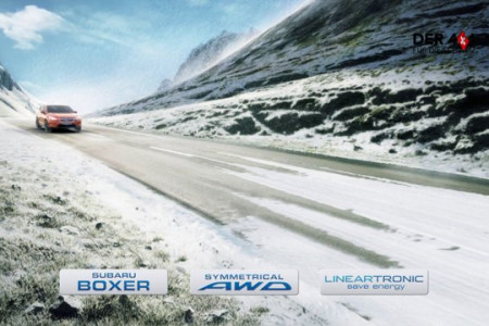 Subaru New Commercial WINTER to SUMMER Infographic