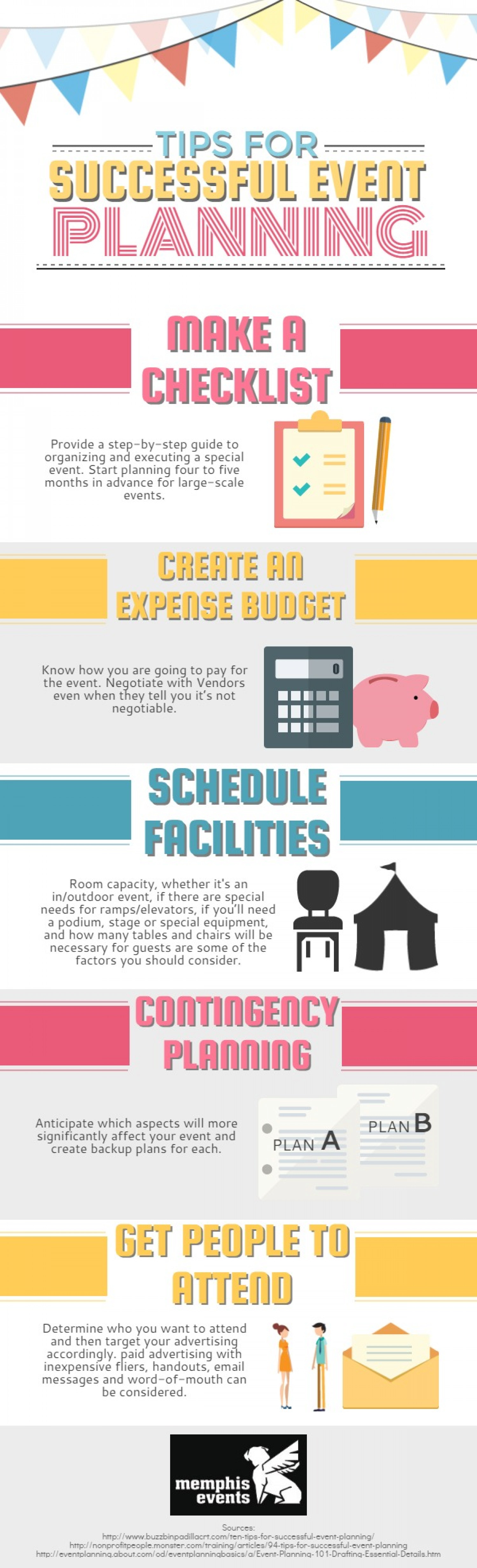 Successful Event Planning Infographic