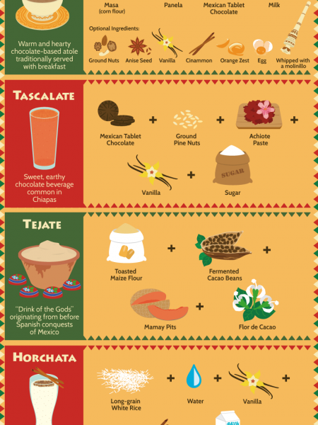 Salsa, Spice and Everything Nice: A Visual Guide to Mexican Cuisine Infographic