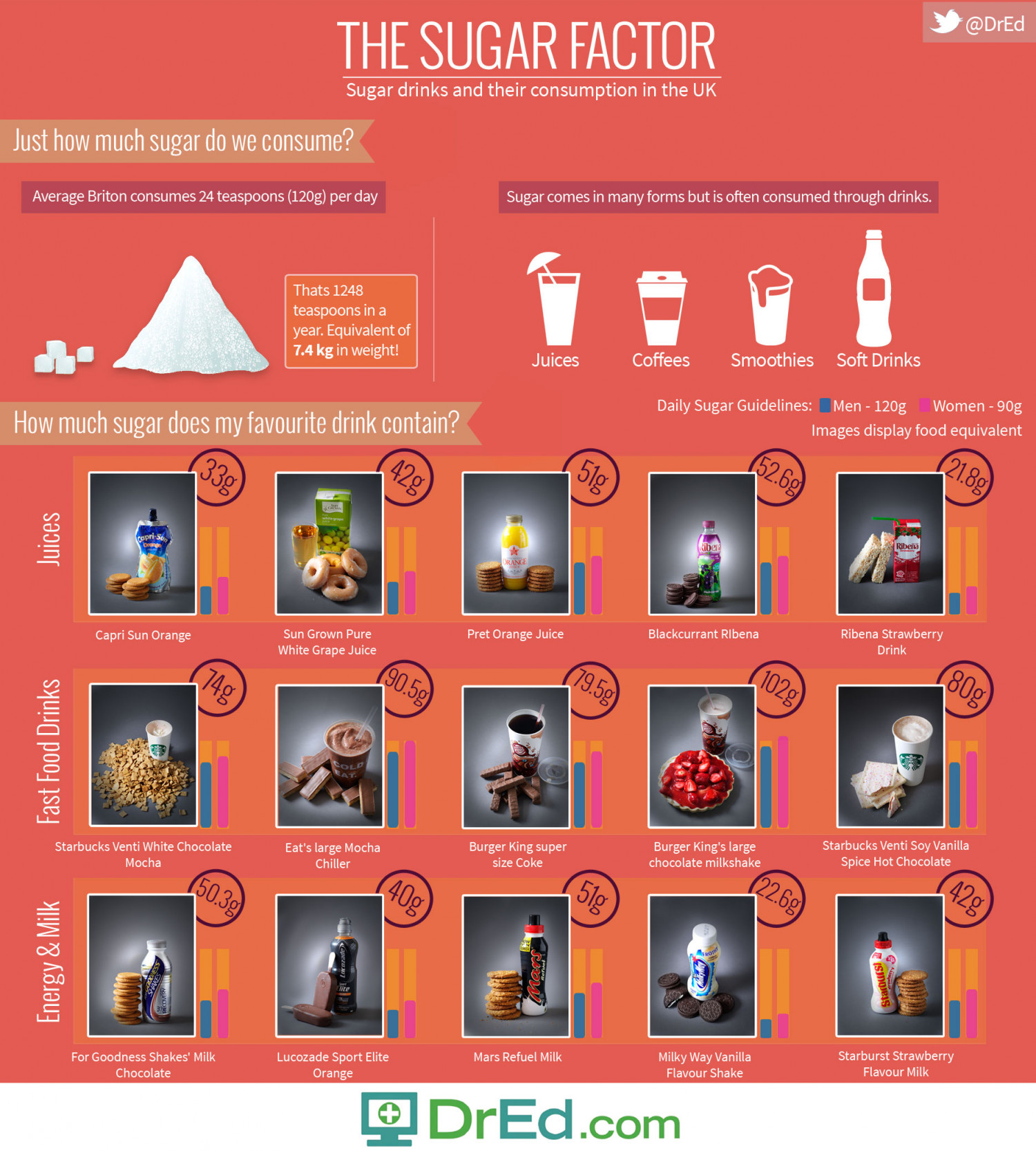 The Sugar Factor Infographic