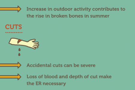 Summer Emergencies and You Infographic