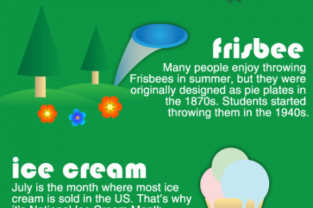 Summer Fun Facts Infographic
