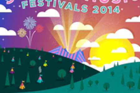 Summer Music Festivals  Infographic