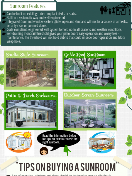 Sunrooms Beauty and Benefits Infographics Infographic