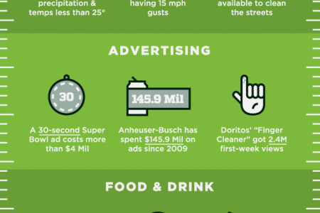 Super Bowl 48: By The Numbers Infographic