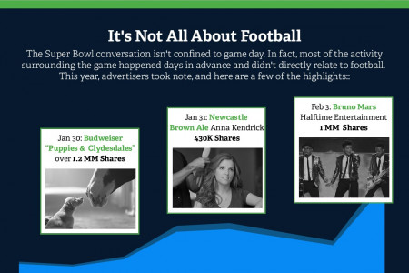 Super Bowl XLVIII: Off the field, marketers were playing their own ball game Infographic