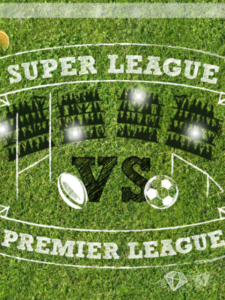 Super League Versus Premier League 2015 Infographic