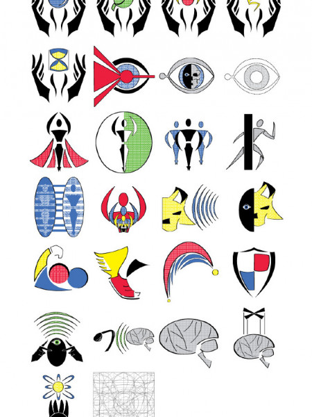 Super Power Symbols Infographic