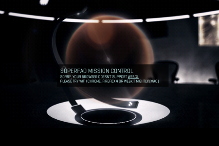 Superfad Mission Control Infographic
