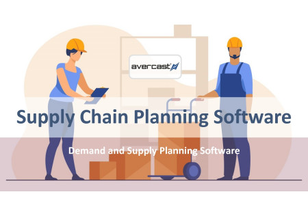 Supply Chain Planning Software Infographic