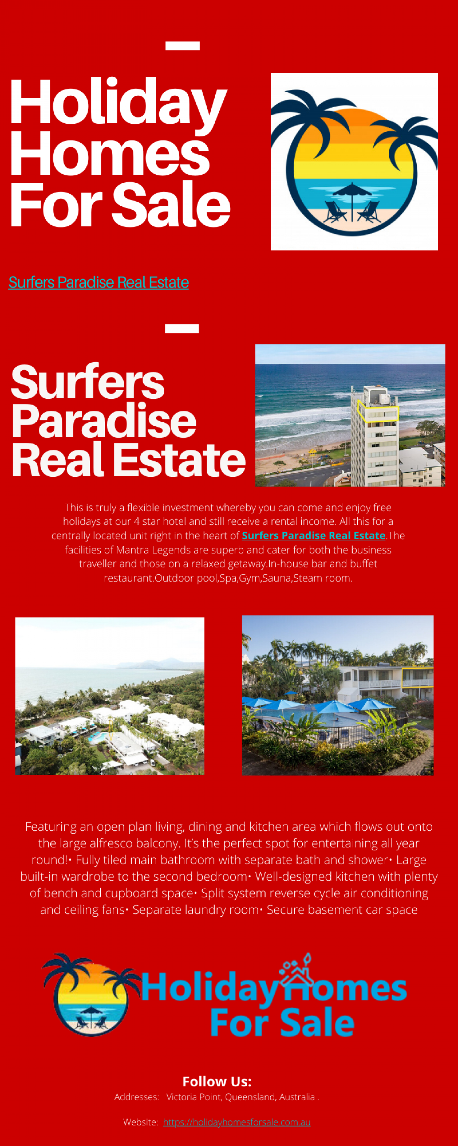 Surfers Paradise Real Estate Infographic