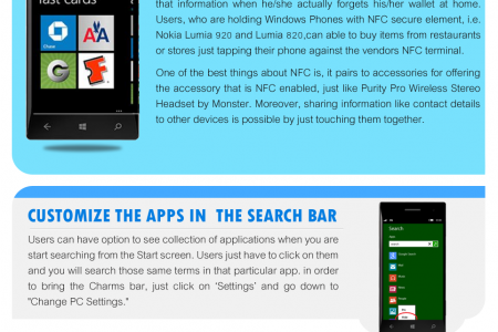 Surprising Features of Windows Phone 8 Infographic