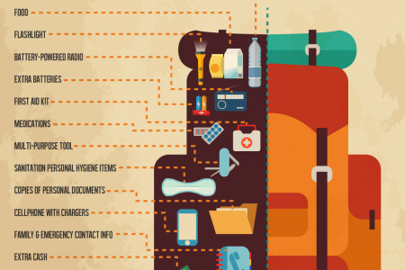 SURVIVAL KIT FOR YOUR HOME Infographic