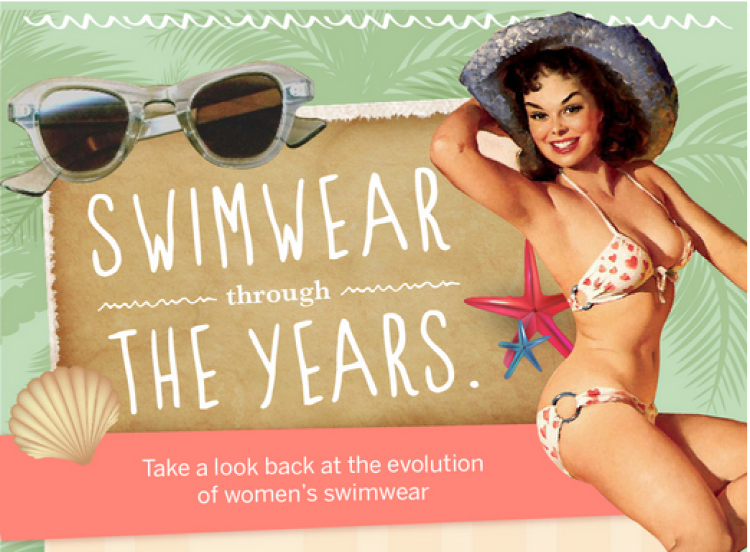 Swimwear Through the Years  Infographic