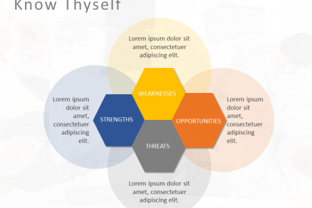 SWOT Analysis PowerPoint Template Infographic