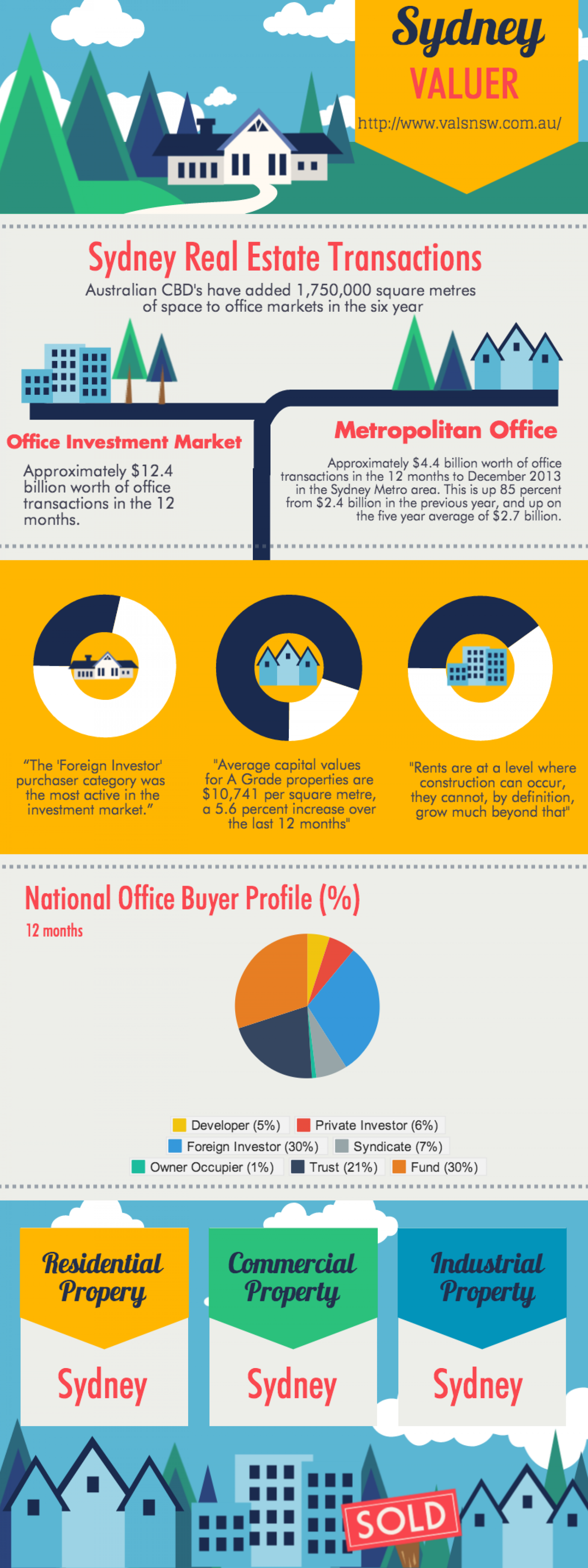 Sydeny Valuers Infographic