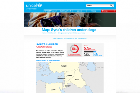 Syria's Children Under Siege Infographic