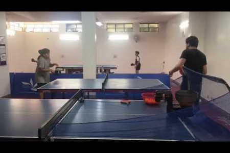 Table Tennis Training with Beginners Children Infographic