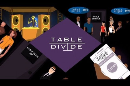 TableDivide - App Demo Video  Infographic
