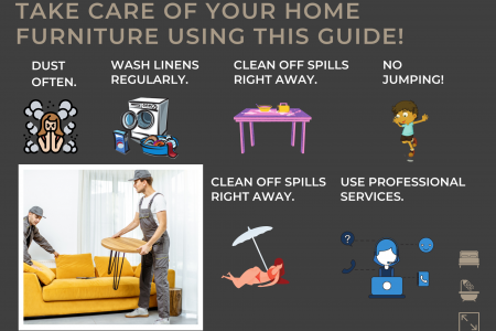 Take Care Of Your Home Furniture Using This Guide! Infographic