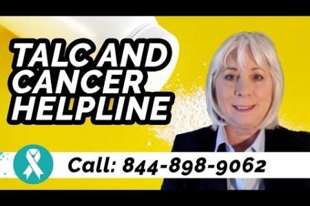 Talc and Ovarian Cancer Infographic
