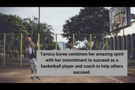 Tamica Goree is Best Basketball Coach  in USA Infographic