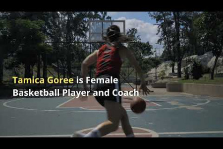 Tamica Goree is Female Basketball Player and Coach Infographic