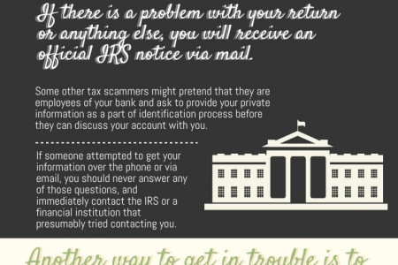 Tax Scams and Dishonest Tax Preparers Infographic