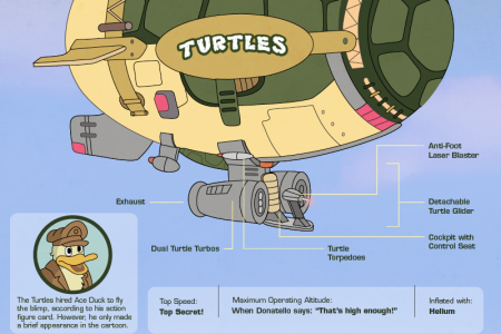 Teenage Mutant Ninja Turtles Infographic Infographic