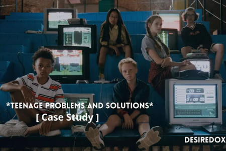 Teenage Problems And Solutions [ Case Study ] Infographic