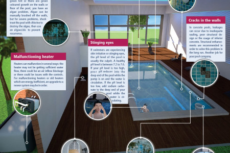 Ten signs that your swimming pool needs to be repaired Infographic