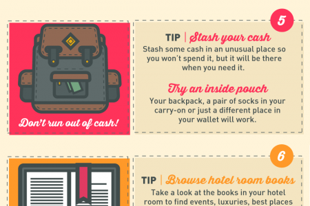 Ten Travel Hacks Infographic