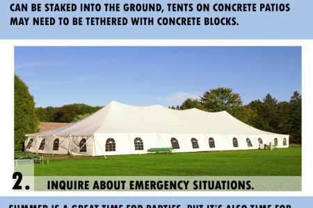 Tent Rental Houston Texas  Infographic