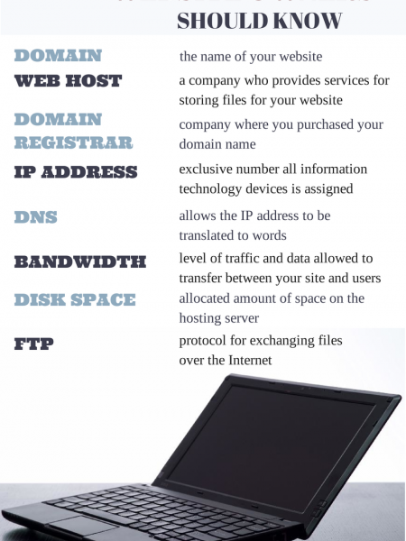Terms Website Owners Should Know Infographic