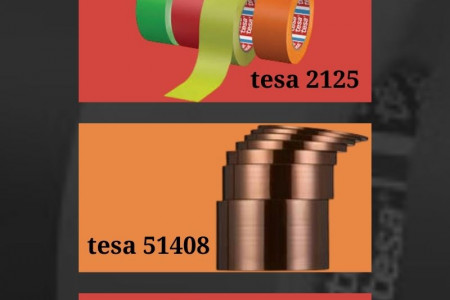 tesa tapes brought to you by Paramount Propack Pvt. Ltd. Infographic
