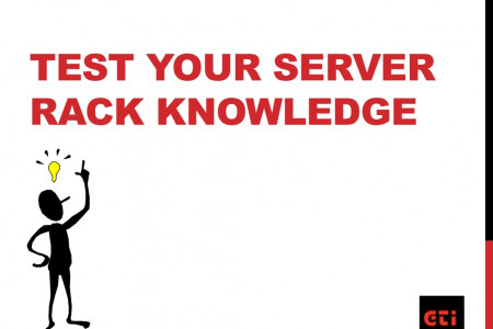 Test Your Server Rack Knowledge Infographic