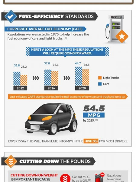How Obese Drivers Hurt The Effort To Curb Fuel Consumption Infographic